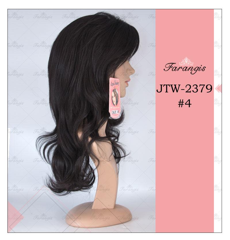 کلاه گیس زنانه قهوه ای مدل JTW کد 4