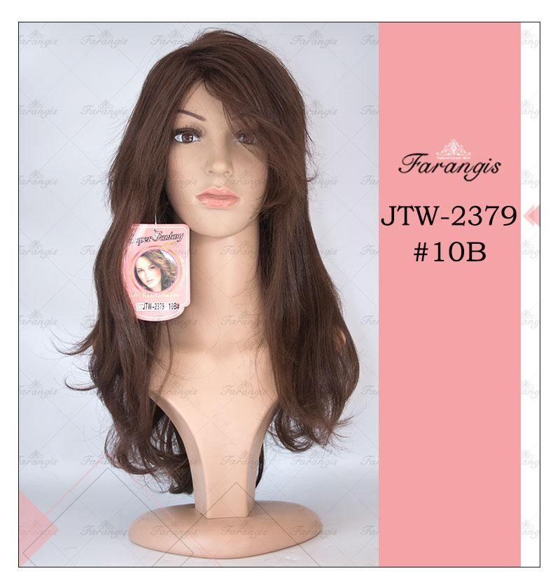 کلاه گیس زنانه قهوه ای مدل JTW کد 10B