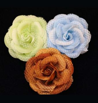 گل پارچه ای کوچک مدل سه