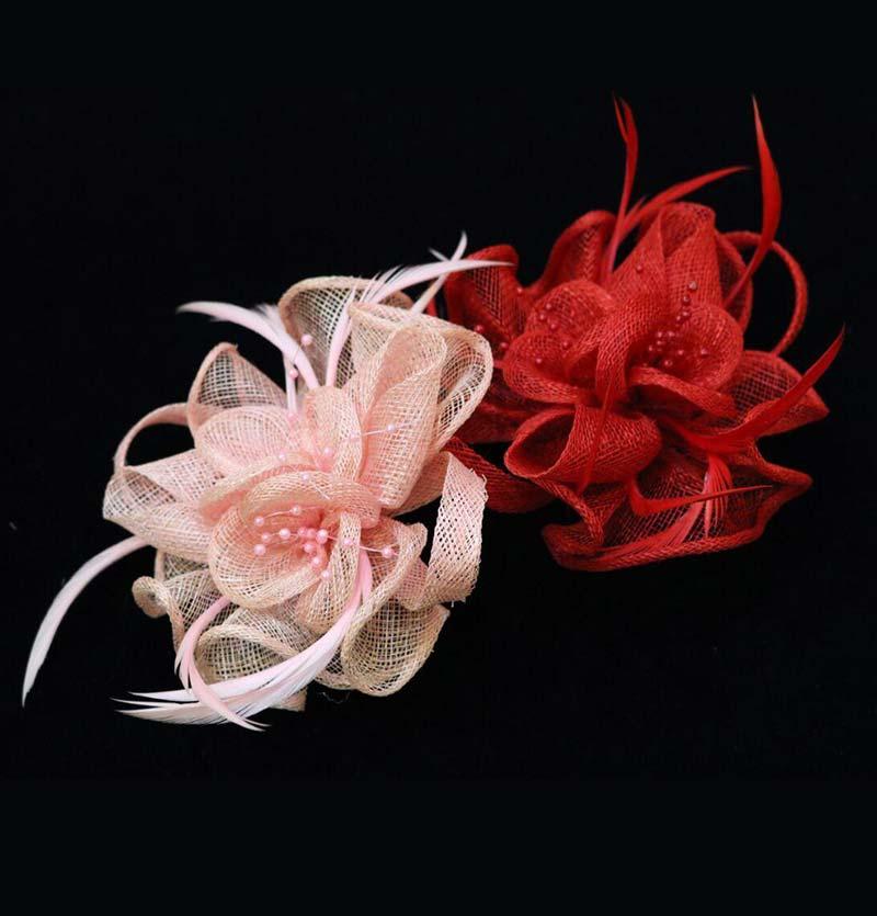 گل پارچه ای خارجی مدل سه