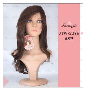 کلاه گیس زنانه قهوه ای مدل JTW کد 8B