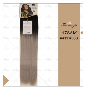 مو متری آمبره خاکستری برند 478AM کد 4TT4503
