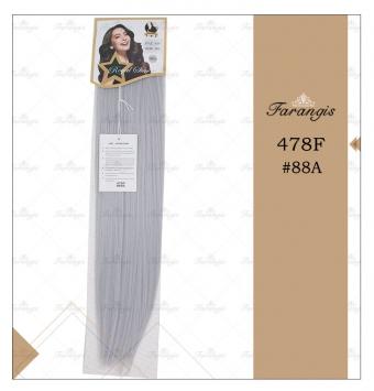 مو متری خاکستری روشن برند 478Fکد 88A