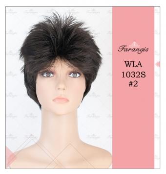کلاه گیس مردانه مشکی مدل WH01032JB کد 2