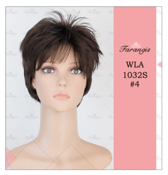 کلاه گیس مردانه قهوه ای تیره مدل WLA1032S کد 4