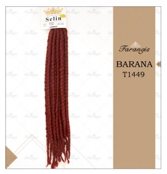 مو دردلاک شرابی مدل BARANA کد T1449