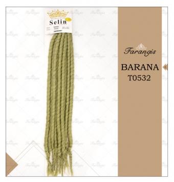 مو دردلاک سبز ارتشی مدل BARANA کد T0532