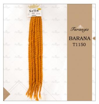 مو دردلاک نارنجی مدل BARANA کد T1150