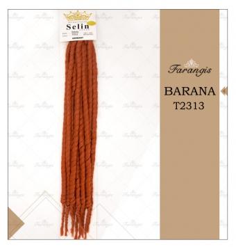 مو دردلاک نارنجی مدل BARANA کد T2313