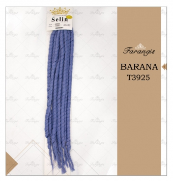 مو دردلاک آبی فولادی مدل BARANA کد T3925
