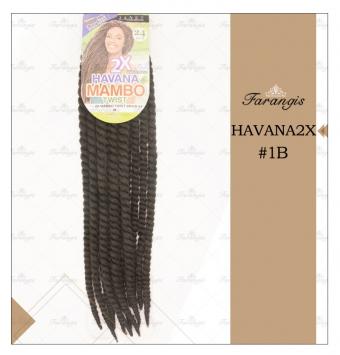 مو دردلاک مشکی مدل HAVANA2X کد 1B