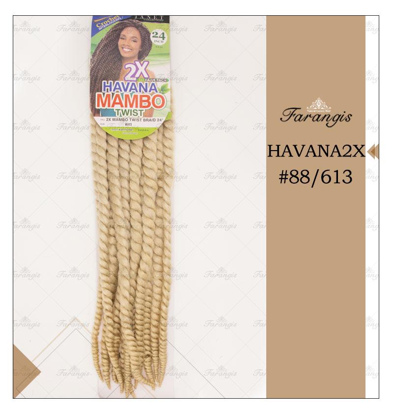 مو دردلاک بلوند مدل HAVANA2X کد 88/613