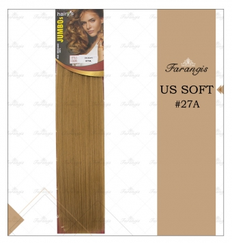 مو متری عسلی متوسط مدل US SOFT کد 27A