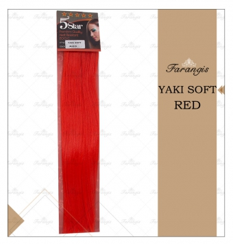 مو متری قرمز مدل YAKI SOFT کد RED