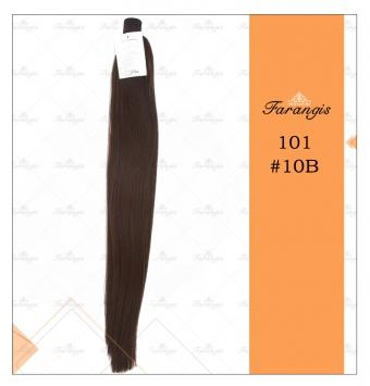موی دم اسبی قهوه ای مدل 101 کد 10B