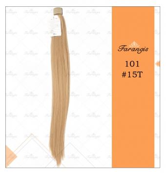 موی دم اسبی بلوند مدل 101 کد 15T