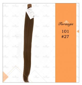 موی دم اسبی قهوه ای مدل 101 کد 27
