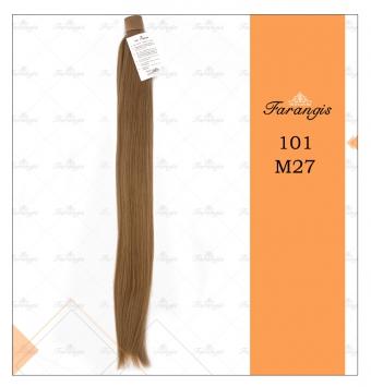 موی دم اسبی عسلی بلوند متوسط مدل 101 کد M27