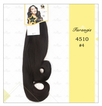 مو دوسر باز مشکی طبیعی مدل 4510 کد 4