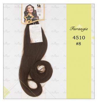 مو دوسر باز قهوه ای زیتونی مدل 4510 کد 8