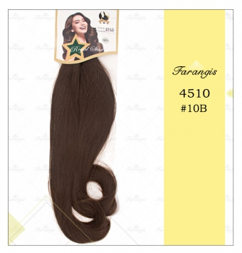 مو دو سر باز قهوه ای بلوطی روشن مدل 4510 کد 10B