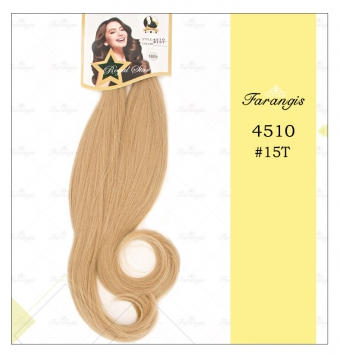 مو دو سر باز بلوند زیتونی عسلی مدل 4510 کد 15T