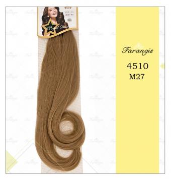 مو دو سر باز قهوه ای مدل 4510 کد M27
