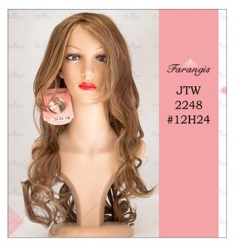 کلاه گیس زنانه رنگ و مش مدل JTW2248 کد 612H24