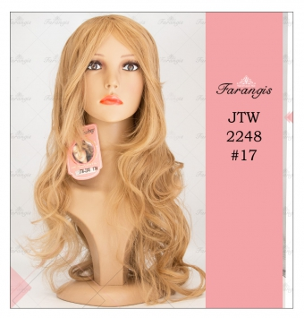 کلاه گیس زنانه کنفی مدل JTW-2248 کد 17
