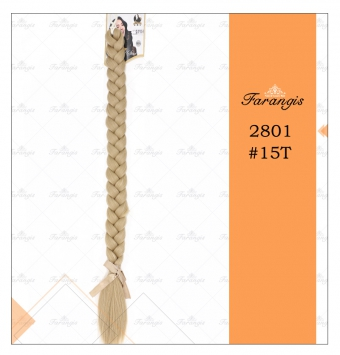 موی دم اسبی بافت بلوند زیتونی عسلی مدل 2801 کد 15t
