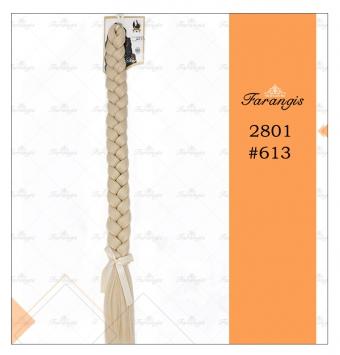 موی دم اسبی بافت بلوند پلاتینه مدل 2801 کد 613