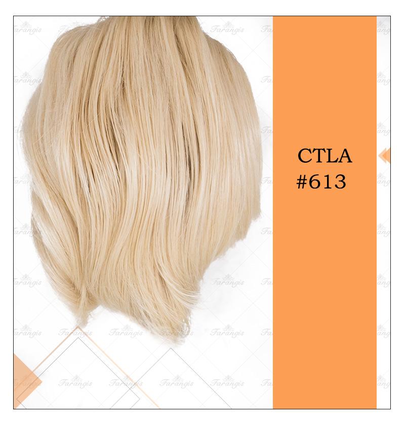 کلیپس مویی بلوند پلاتینه مدل CTLA کد 613