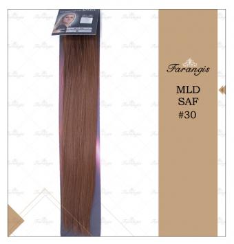 مو متری لخت مسی عسلی مدل MLD SAF کد 30