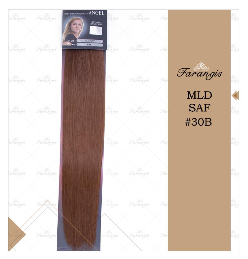 مو متری لخت مسی عسلی تیره مدل MLD SAF کد 30B