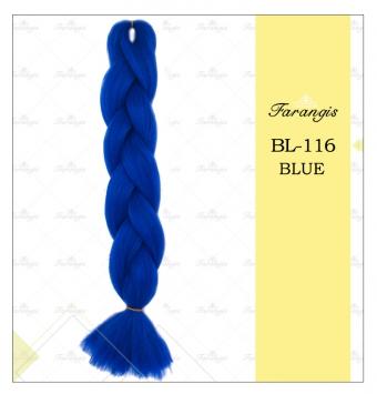 مو دوسر باز وز آفریقایی آبی مدل ultra braid کد blue