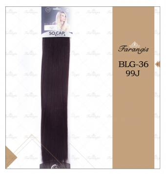 مو متری شرابی بادمجونی مدل BLG-36 کد 99J