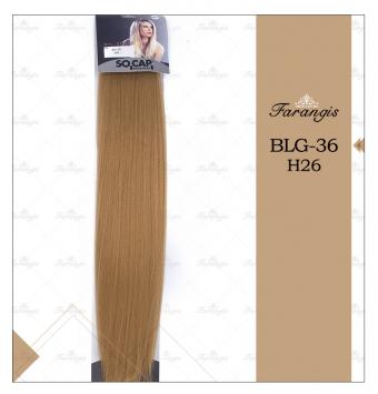 مو متری عسلی بلوند مدل BLG-36 کد H26
