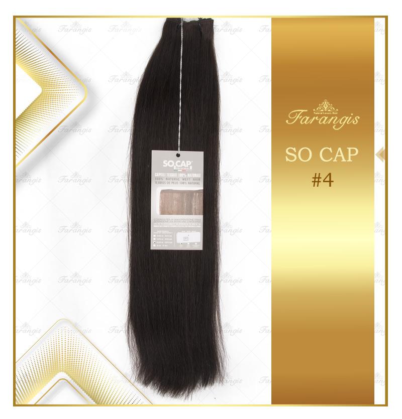 مو طبیعی مشکی کد 4