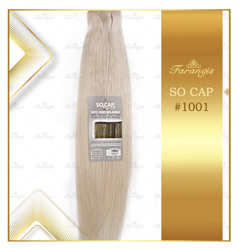 مو طبیعی بلوند کد 1001