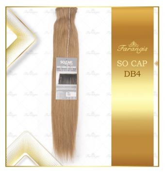 مو طبیعی اکستنشن عسلی کد DB4
