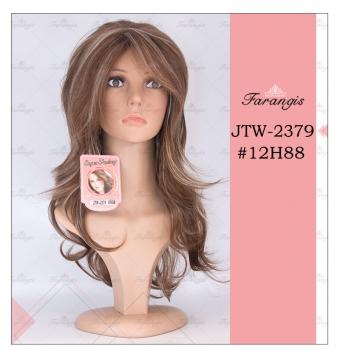 کلاه گیس زنانه هایلایت مدل JTW کد 12H88