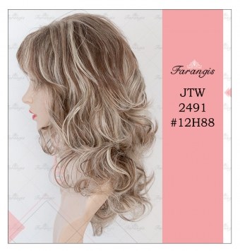 کلاه گیس زنانه هایلایت مدل JTW2491 کد 12H88